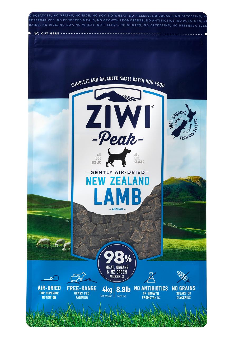Ziwipeak Air Dried Lamb 4kg Ziwipeak Dog Food Otis